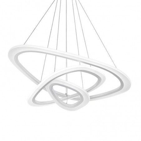 Pendant 3 ACRILYC TRIANGLE 90W, 4000K,88+64+43+25mm, 1075