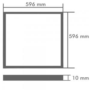 LED panou patrat incorporabil (40W)