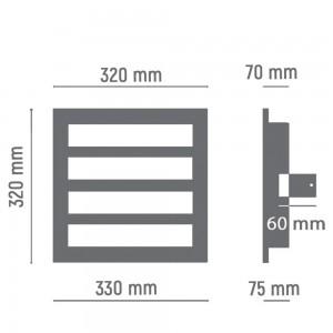 Gas station light 4 module
