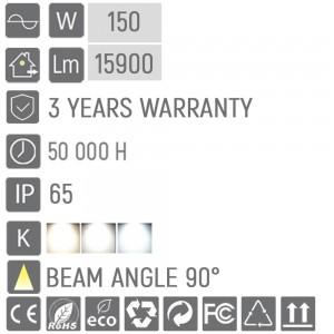 High bay UFO 100-150W