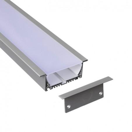 Profil din aluminiu pentru banda LED LMC-9032-2 3m/set, 90*32mm