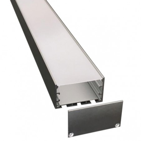 WIDE AL PROFILE LMC-6035 3m/set, 60*32mm