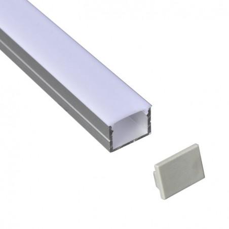 Profil din aluminiu pentru banda LED LMC-408 19.4*14.15mm 2m/PC Furniturre