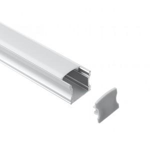 Profil din aluminiu pentru banda LED LMC-A55-2 17.20x16.50mm 2m/PC Furniturre