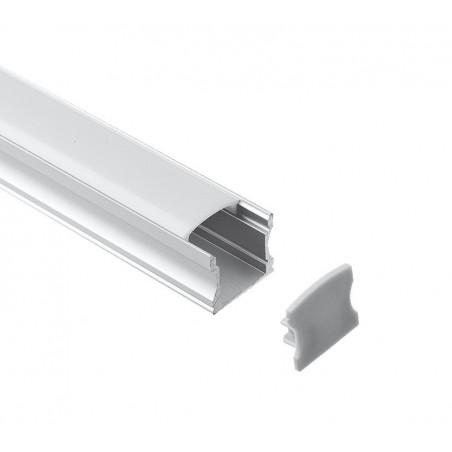Alluminium profile LMC-A55-2 17.20x16.50mm 2m/PC Furniturre