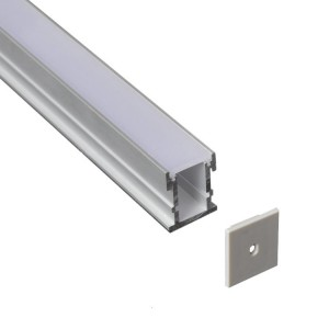 Profil din aluminiu pentru banda LED LMC-2126 21*26mm 2m/PC floor