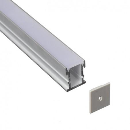 Alluminium profile LMC-2126 21*26mm 2m/PC floor