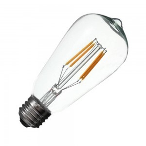 Bec cu filament LED E27 ST64
