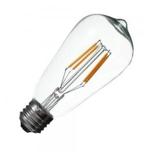 Филаментная лампочка E27 ST64