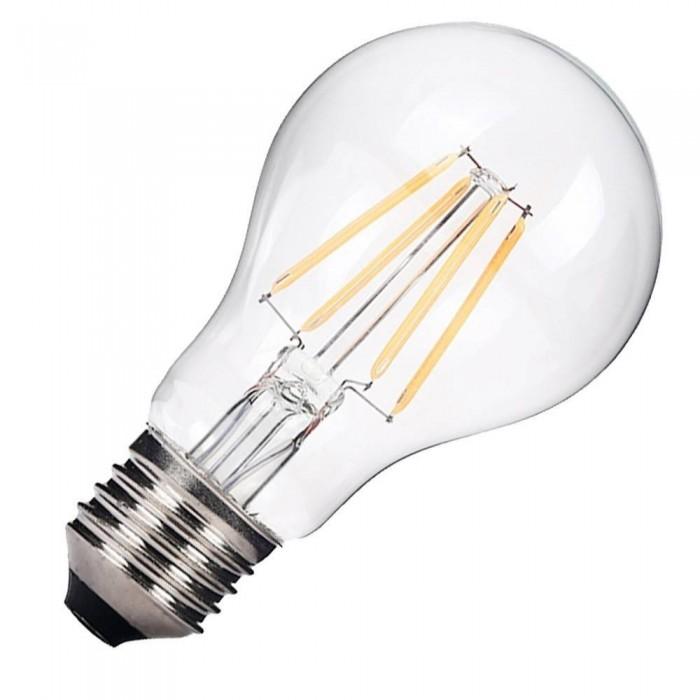 Bec cu filament LED E27 A60