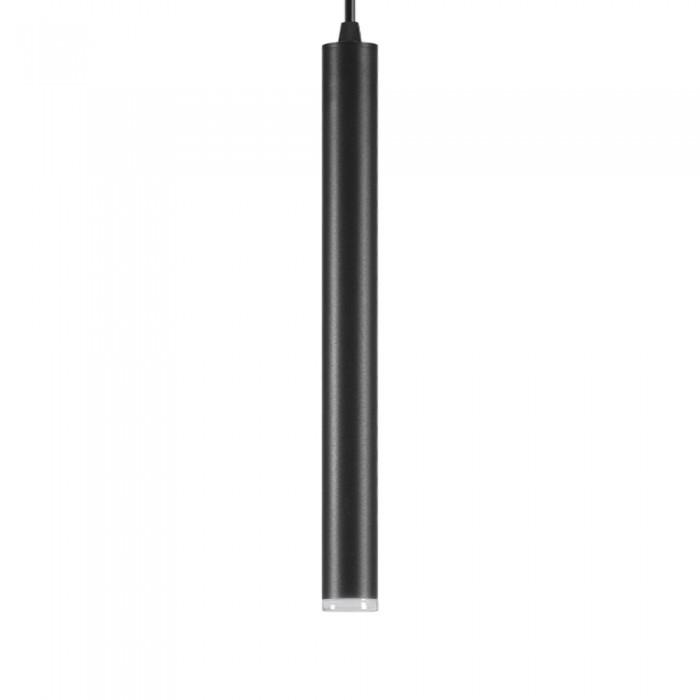 Pendant Slim 12W Black Ø40mm
