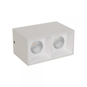 Grid Light housing LM 3008-2*10WL White