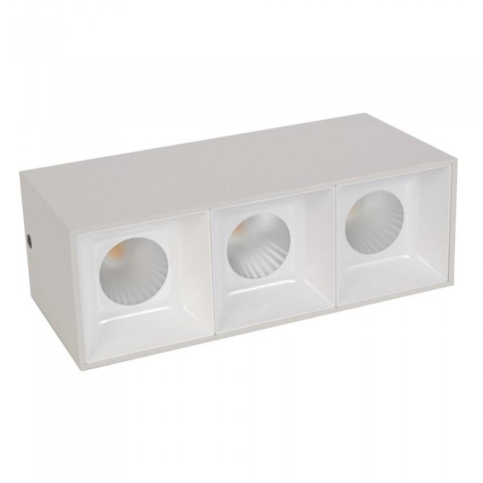 Grid Light housing LM 3008-3*12WL White