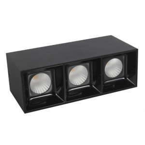 Grid Light housing LM 3008-3*10WL Black