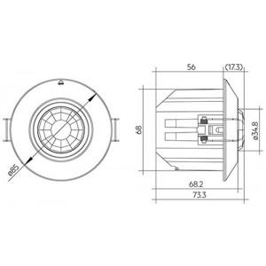 Wireless Sensor basicDIM 5DP 38rc 28002801