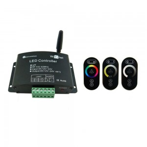 WIFI controller HX-WIFI-V01 with RF RGB touch remote without match code