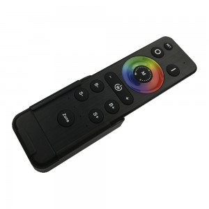 4-zone remote control HX-RFBK-RGB-2.4G for DIM/CCT/RGB/RGBW/RGBW+CW, DLV003