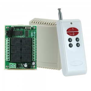 DC12V 433MHZ 6CH controller and rf remote KL-K601X,KL1000-6