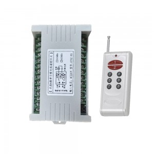DC12V 433MHZ 8CH controller and rf remote KL-K803,KL1000-8