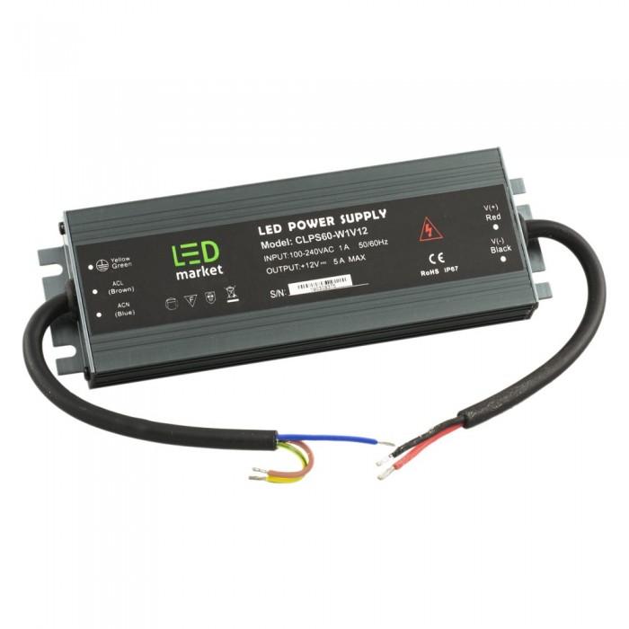 Блок питания Slim CV 60/100W, 12VDC, IP67, CLPS-W1V12