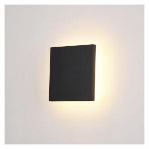 Wall square Light SMD W27046 12 (W) Black