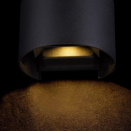 Wall mount surface lamp W3156 6 (W) Black