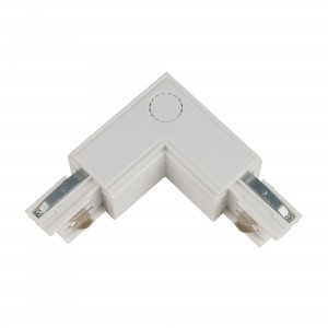 Track line conector 90° L Type 4wires WHITE H-04 LEFT