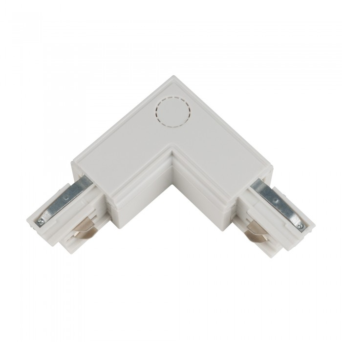 Track line conector 90° L Type 4wires WHITE H-04 RIGHT