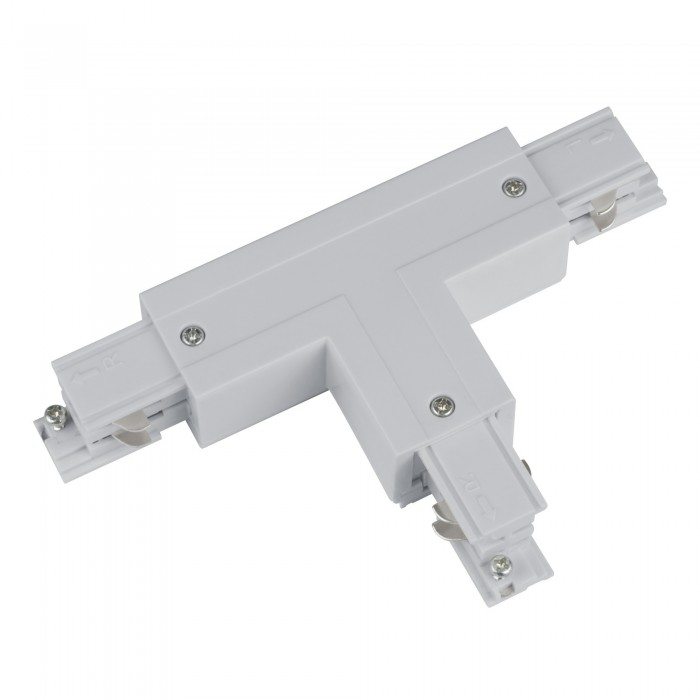 Track line conector 2x90° T Type 4wires WHITE H-04 RIGHT