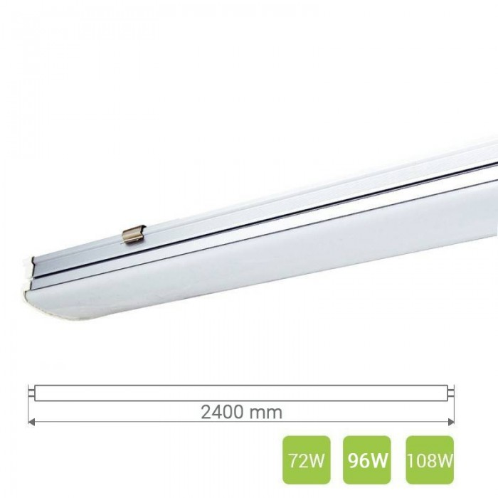 Linear LED Light T20 (2400mm, 72-108 W)