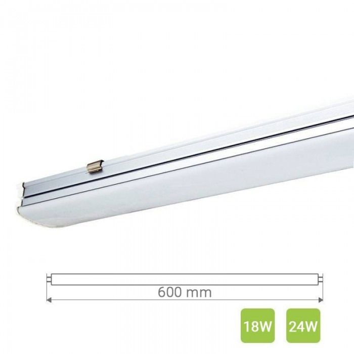 Linear LED Light T20 600mm 18 - 24W