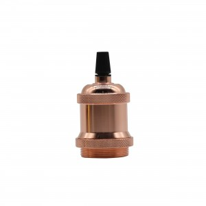Soclu decorativ E27,48*66mm,copper