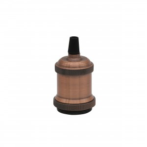 Soclu decorativt E27,48*63mm,bronze