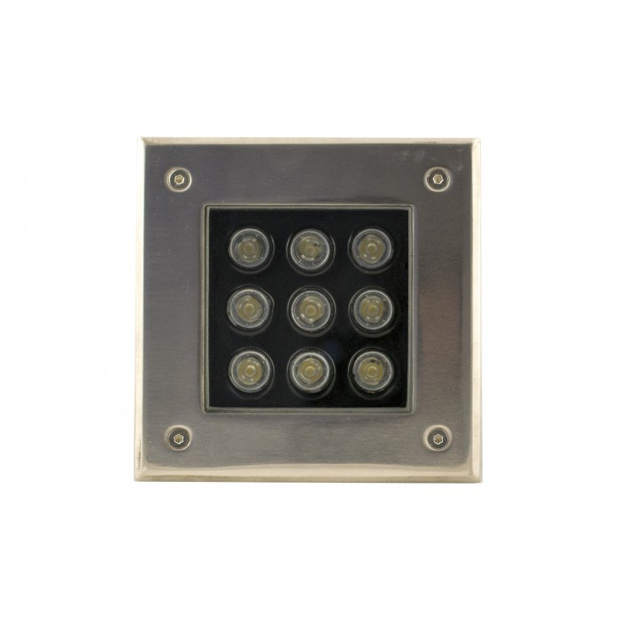 Погружной светодиодный светильник (9 W) зеленый