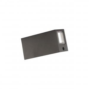 Wall Light COB W27036 black IP65 2*3W