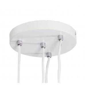 Round Pedant LM-PC3003- 3*7W+1*12W white