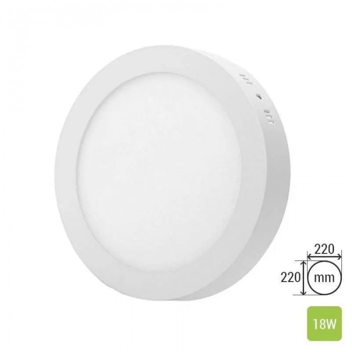 Round Ceiling Panel Surface TS-P0318 (18W)