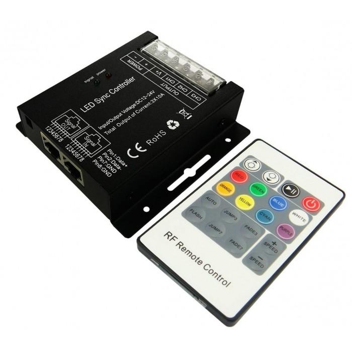 RGB RF Controller HX-SZ600-RF20K 3*8.0A ch, sync