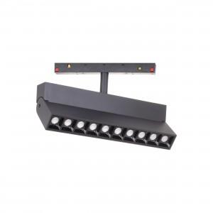 Magnetic Line Track Light LM35-10 10*2W(20W) Black