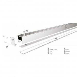Linear light LMX-5070-M 50*70mm 1.5m 65W