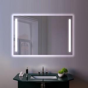 Oglinda LED AMARO 1200x800mm 6000K 90W Bluetooth FM