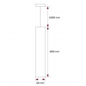 Pendant square LM-HQ 12W