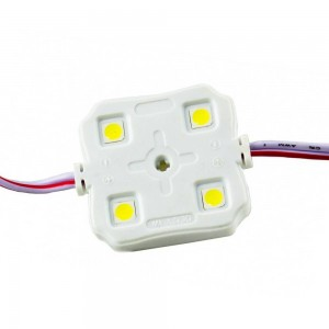 Led Module IP67 36x36x5mm SMD 5050 MPW142A 4x0.24W