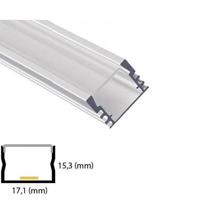Profil din aluminiu pentru banda LED L-017