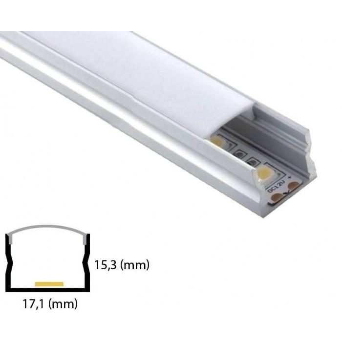 Profil din aluminiu pentru banda LED LW-W80