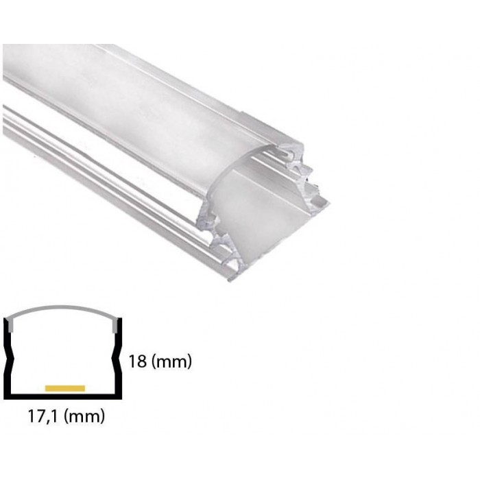 Profil din aluminiu pentru banda LED L-005