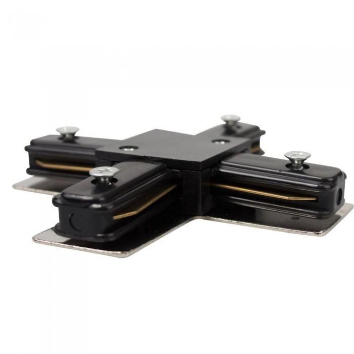 Track line conector 4x90° Black