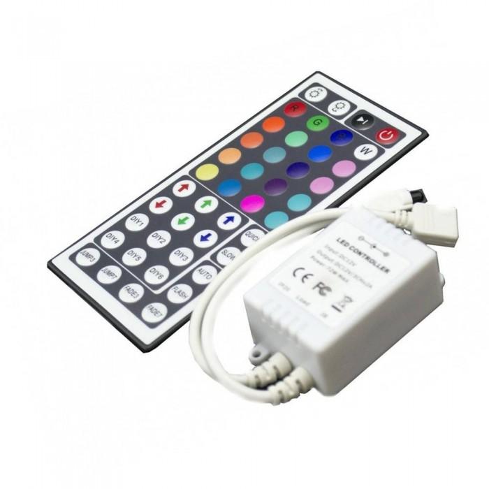 RGB Controller IR Remote control 44 keys Max Power 72w