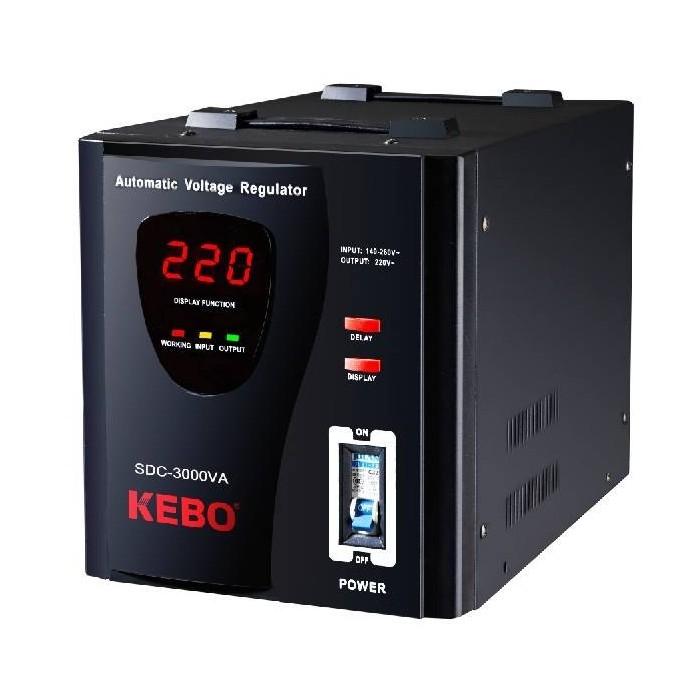 AVR Стабилизатор напряжения 3000VA, WDR-3000VA