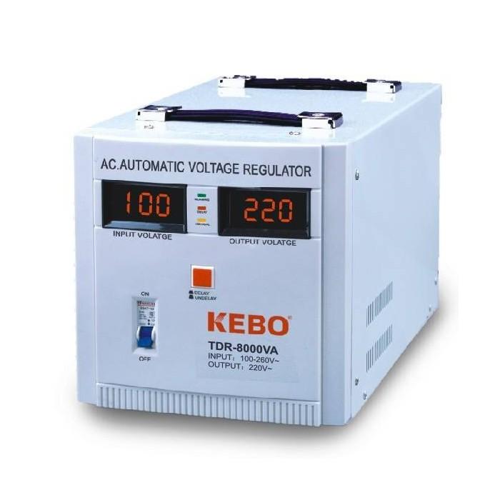 AVR Стабилизатор напряжения 8000VA, TDR-8000VA